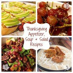 Thanksgiving Appetizer Recipes via Tsiporah Blog