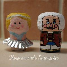 Christmas Character Corks- Domestic Goddesque