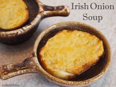 Irish Onion Soup Recipe - enhanced with Guinness Irish Stout! This one.... I would make for JesSky. ;o)