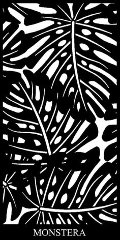 The Monstera Laser Cut Decorative Panels creates a tropical and tranquil aesthetic with its Monstera leaf design. Perfect as a garden feature! Laser Cut Screens, Laser Cut Panels, Laser Cut Metal, Laser Cutting, Decorative Metal Screen, Decorative Panels, Laser Cut Patterns, Stencil Patterns, Laser Cut Designs