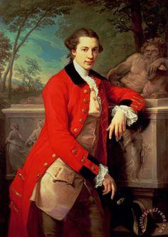 """Portrait of Edmund Rolfe,"" 1761 -- by Pompeo Batoni"
