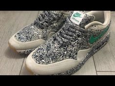 I've done a custom pair of Air Max's a bit over a couple of years ago. Air Max 1, Nike Air Max, Custom Sneakers, Pairs, Shoes, Youtube, Fashion, Moda, Zapatos