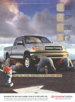 Toyota Tundra Pickup Truck 2001 Ad Picture