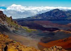 Bicycle ride down the Haleakala Volcano in Maui, Hawaii. Definitely the neatest thing I have ever done!