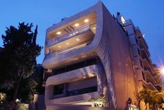 One Kleomenous Building In Athens By Omniview Architects