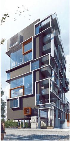 Best Modern Apartment Architecture Design 22