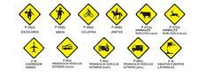 Resultado de imagen para hoja de trabajo de las señales de transito
