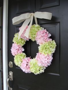 What a way to welcome! This large wreath is perfect for your front door or large indoor space such as over a mantle or foyer. Measures 24 inches