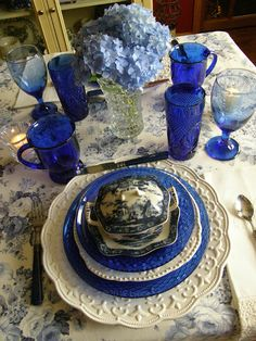 Lynne's Gifts From the Heart: ~ Beautiful Blues ~