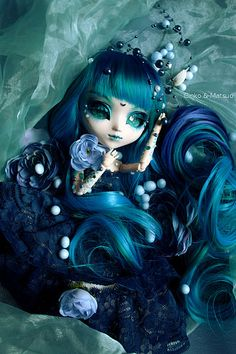 Pullip Bathocyroe, Queen of Abyss. | Flickr - Photo Sharing!