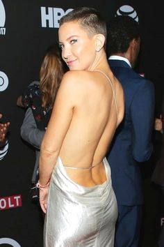 Kate Hudson owning the buzzcut!