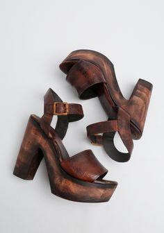 wood platform heels                                                                                                                                                      More