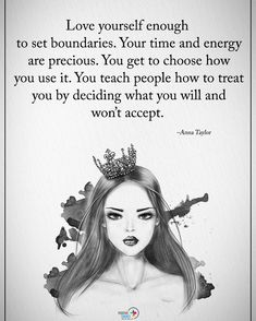 "6,443 Likes, 64 Comments - Motivation + Positive Quotes (@positiveenergy_plus) on Instagram: ""Tag someone who needs to read this. Love yourself enough to set boundaries. Your time and energy…"""