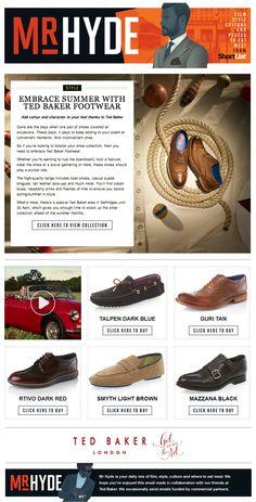 Ted Baker Footwear on Mr Hyde 17.04.14
