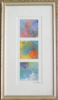 Color Squares Gouache Abstract Original Art on Etsy, $170.83 AUD
