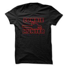 zOMBIE hUNTER T-Shirts, Hoodies. CHECK PRICE ==► https://www.sunfrog.com/Zombies/zOMBIE-hUNTER-21362489-Guys.html?id=41382