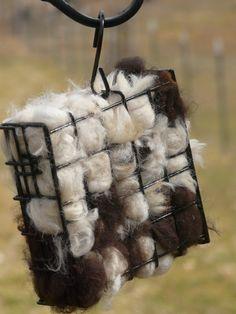 Alpaca Fiber Bird Nesting Case by TomorrowFarm on Etsy, $7.00