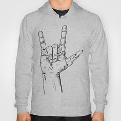I Love You Hoody by tyler Guill - $38.00