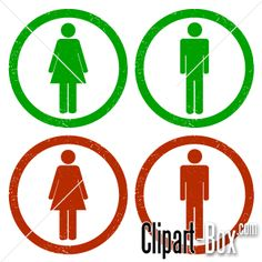 CLIPART MEN - LADIES ICONS