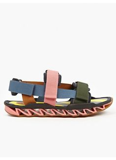 Bernhard Willhelm x Camper Together Men's Strap Sandal | oki-ni (£125.00) - Svpply