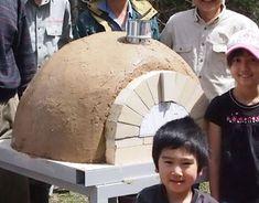 ドーム型ピザ窯(土窯)キット
