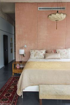 Soft walls - love this dusky rose pink