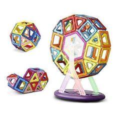 Oferta: 36.99€ Dto: -63%. Comprar Ofertas de Keten Construcciones Magneticas Juegos de Construcción para Niños [52pcs]-Upgraded Juguetes Magnéticos Apilamiento de Constru barato. ¡Mira las ofertas!