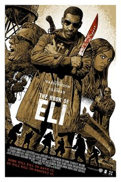 Chris Weston | The Book of Eli | Reelizer: Showcasing Alternative Movie Posters