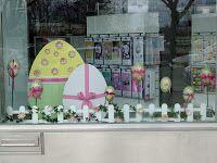 Easter window display
