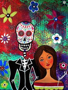 Dia de los Muertos Lovers