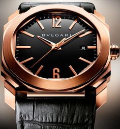Wish i could buy this for Jimmy!  Bulgari Octo Watch