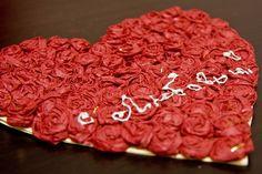 diy Valentine's heart