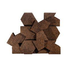 Пробковые покрытия   Gencork Hanging Room Dividers, Natural Materials, Biodegradable Products, Cork, Chocolate, Interior Design, Future, Projects, Design Interiors