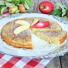 - Äpplekladdkaka - Apple Kladdkaka, with grated apples in the batter - serve with whipped cream, ice cream or vanilla sauce Baking Recipes, Cake Recipes, Dessert Recipes, Desserts To Make, No Bake Desserts, Danish Dessert, Grandma Cookies, Wheat Free Recipes, Pudding Desserts