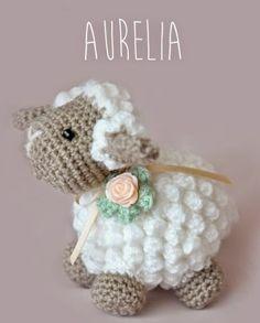 * madness by muse * ♡ Easter Crochet Patterns, Crochet Motifs, Crochet Patterns Amigurumi, Crochet Dolls, Knitting Patterns, Crochet Sheep, Crochet Diy, Crochet Crafts, Crochet Projects