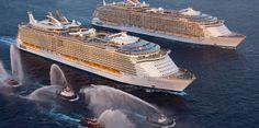 """La elección de Barcelona como base del """"Allure of the Seas"""" dejará 27 millones de euros en España"""