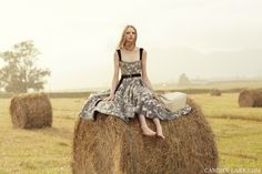 Candice Lake photographs the Louis Vuitton Icons in the Australian countryside (via candicelake.com)