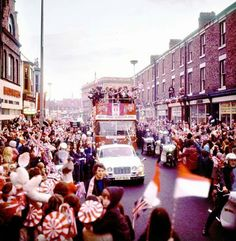 1973 Sunderland AFC. After winnng the FA Cup 1-0 against Leeds Utd