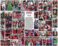 Bill Cunningham - On the Street: Reds December 18th, 2011