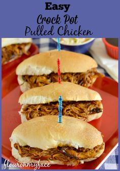easy family recipes, crock pot pulled chicken, chicken crock pot recipes,