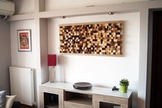 Buy wall art decor made of wood. Original, handmade, eco-friendly wall art and sound diffuser art panel made in Greece. Acoustic Wall Panels, Panel Wall Art, Decor Buy, Wooden Stand, Art Decor, Mdf Wood, Wall Paneling, Buy Wall Art, Wooden Walls