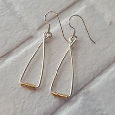 Hey, I found this really awesome Etsy listing at https://www.etsy.com/listing/256061529/two-tone-earrings-sterling-silver