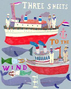 three sheets to the wind sailor sailor monika forsberg walkyland