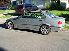 BMW 1998  E36 328I with Yakima Rack