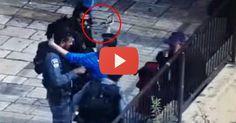 Arab terrorist tries to kill Israeli cop...watch the cop's lightening response