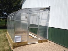 8x12.5 Sunglo lean-to greenhouse. Attaches to any building, deck, concrete etc. Who wouldn't love this? #gardening #growing #planting #greenhouse #DIY #homestead