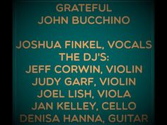 GRATEFUL JOSHUA FINKEL, VOCALS Thanksgiving 2020, Current Events, Grateful, Acting, Dj, Stress, Songs, Projects, Log Projects