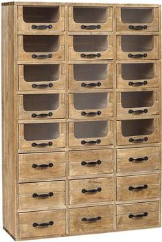 Multi Drawer Pharmacy Cabinet (Sideboards & display cabinet)