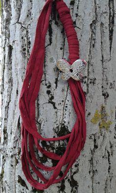 FETTUCCIA collana in ceramica di ILMONDODIPIERA su Etsy
