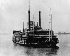 steamboat images | Mississippi Steamboat, 1926 Photograph